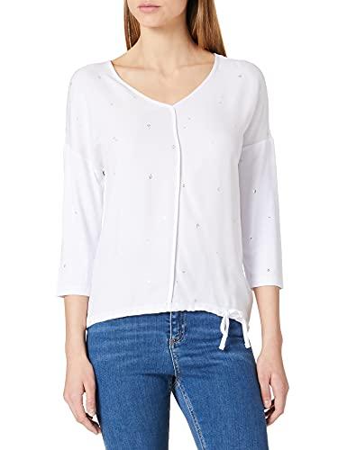 Street One Damen 316016 T-Shirt, White, 36