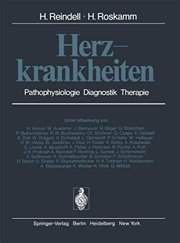 Herzkrankheiten: Pathophysiologie Diagnostik Therapie