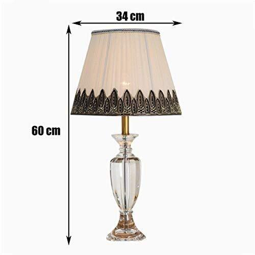 Tafellamp licht koperen doek Europese stijl push knop dimmer lamp LED spaarlamp schakelaar decoratieve verlichting