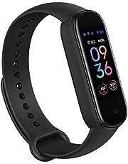 Amazfit Smartwatch Band 5 Fitness Tracker armband met geïntegreerde Alexa, 15 dagen batterijduur, bloedzuurstof, hartslag, slaapmonitoring, digitale klok voor sport