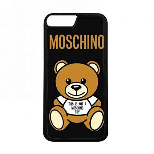 iPhone 7 Moschino Hülle,Super Moschino Hülle Mode Marke Handy Zubehör,Moschino Bär Logo Hülle Für Mädchen