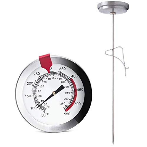 Snow Island Kitchen Food Stainless Steel Probe Thermometer Oven Waterproof...