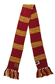 Harry Potter Gryffindor Heathered Knit Scarf for Adults and Kids