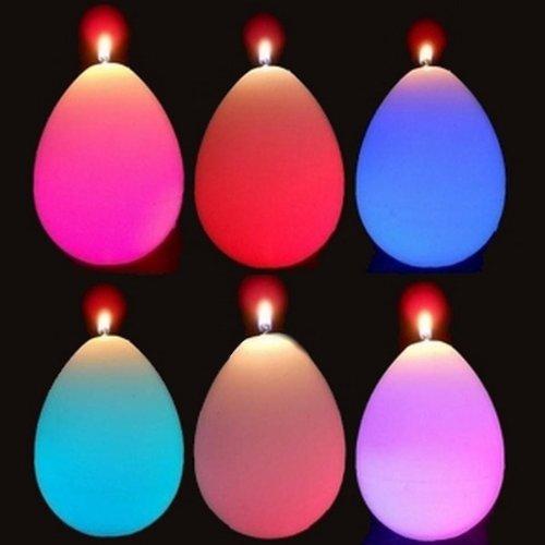 Zen'Light SCBL06 Bougie Goutte en cire avec éclairage LED