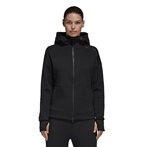 adidas Damen Z.N.E. 2.0 Hoodie, Black, M