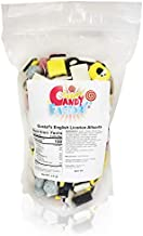 Sarah's Candy Factory English Licorice Allsorts in Resealable Bag, 2.5 Lbs