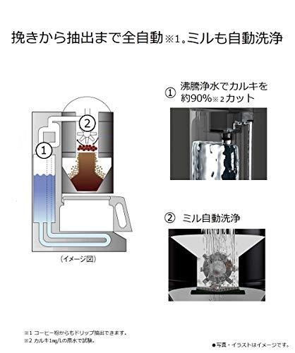 パナソニック沸騰浄水コーヒーメーカー全自動タイプブラックNC-A56-K