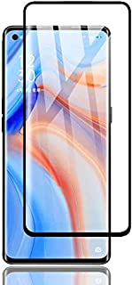 Al-HuTrusHi Screen Protector Compatible with Oppo Reno4 Pro 5G, Full Coverage Tempered Glass with 9H Hardness, [Anti-Scrat...