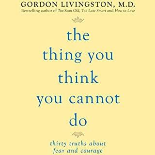 The Thing You Think You Cannot Do audiobook cover art