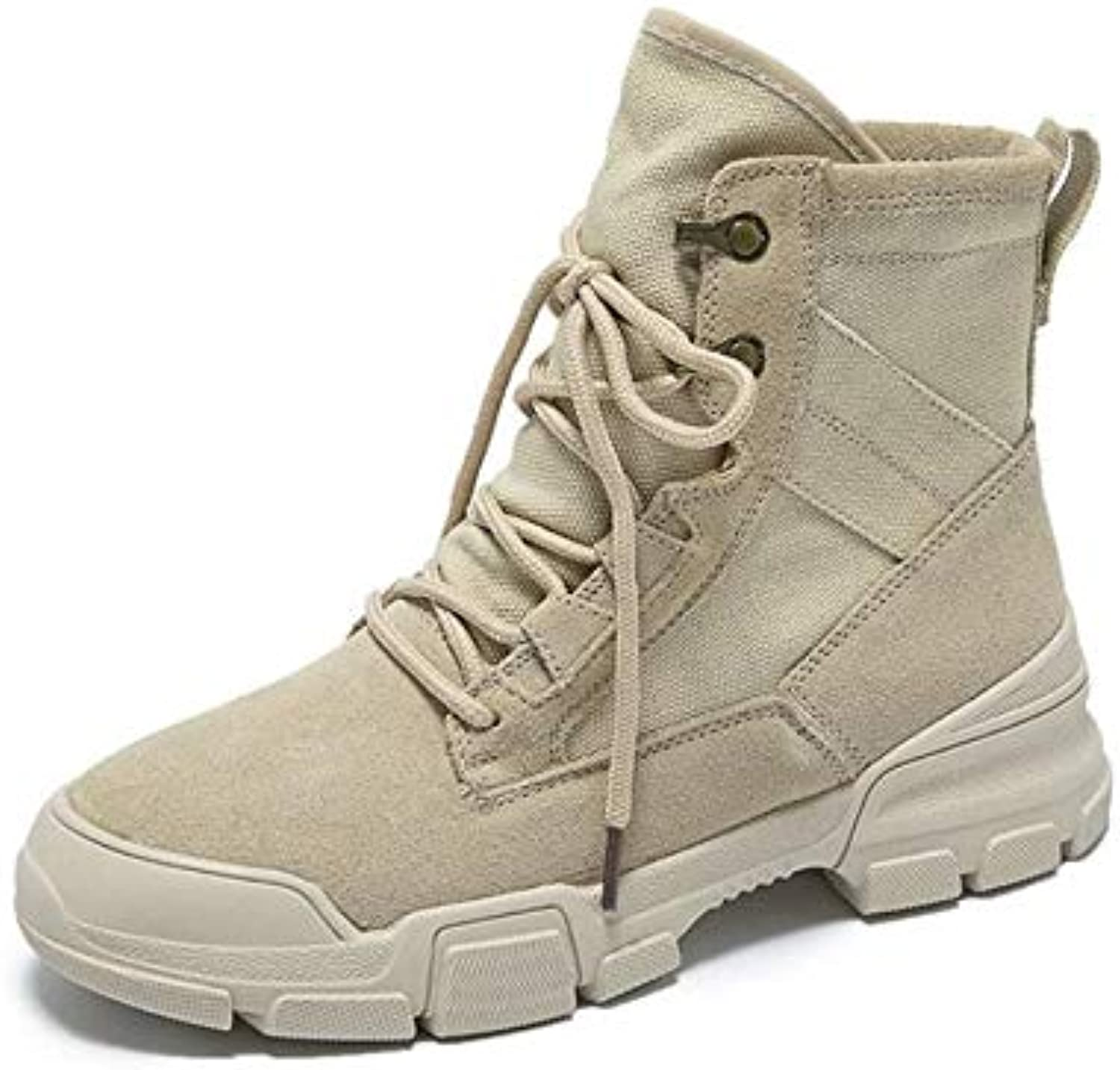 Meimeioo Fashion Women Boots Style High-top Military Ankle shoes Casual Sport shoes