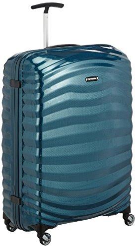 Samsonite Lite-Shock - Spinner L Maleta, 75 cm, 98.5L, Azul (Petrol Blue)