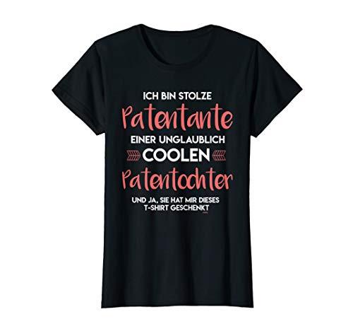 Ich bin Stolze Tante Patentante Nichte Geschenk Spruch T-Shirt