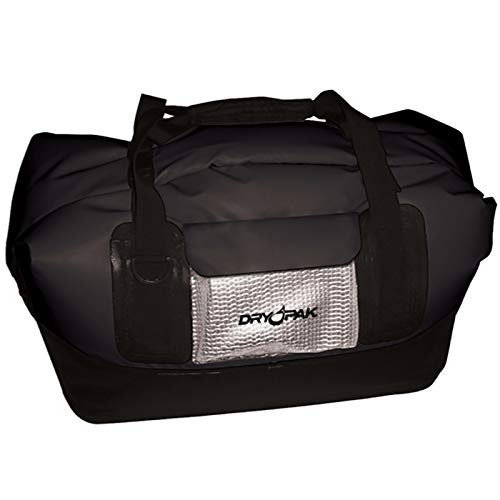Kwik Tek Dry Pak Waterproof Duffel Bag - Black - Large