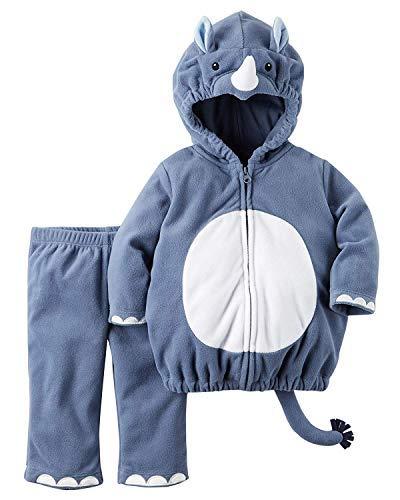 Carter's Baby Boys' Little Rhino Costume (3-6 Months, Rhino)