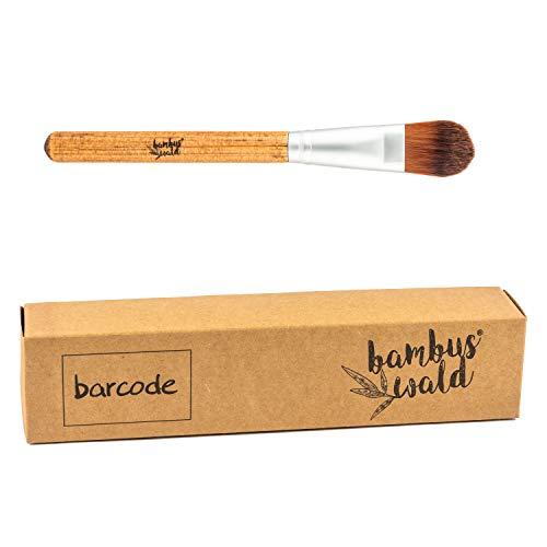 bambuswald© professioneller Make-Up Pinsel aus Bambus & synthetische Borsten - nachhaltige & umweltfreundliche Kosmetik - FOUNDATION BRUSH | Schminkpinsel Set Kosmetikpinsel