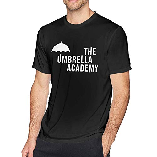 VJSDIUD The Umbrella Academy GTA Herren T-Shirt Kurzarm O-Ausschnitt Baumwolle T-Shirt