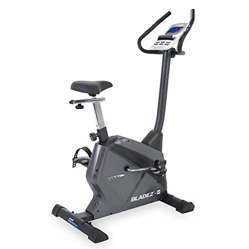 Bladez by BH Fitness 200U Stationary  Indoor Upright Cycling Exercise Bike