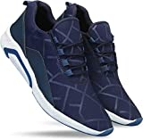 layasa Men's Air Series Mesh Casual,Walking,Running/Gymwear Shoes … (9, Blue)