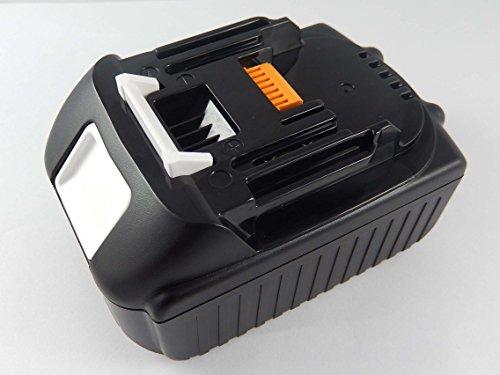 INTENSILO Batería compatible con Makita DHP453, DHP453RFE, DHP453RFX2, DHP453RYLJ, DHP453Z; herramientas eléctricas (2500mAh, 18V,Li-Ion)