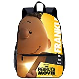 Mochila Infantil con 3D mochila para niño Cacahuetes: Franklin Adecuado para: estudiantes de primaria y secundaria, la mejor opción para viajes al aire libre Tamaño: 45x30x15 cm / 17 pulgadas Capaci