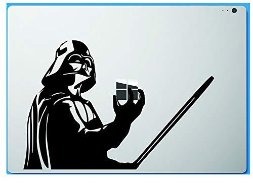 Star Wars Darth Vader Holding Apple Macbook Decal Vinyl Sticker Apple Mac Air Pro Retina Laptop sticker, Model: , Electronic Store