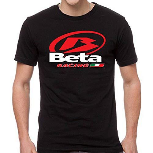 JONES DIY Beta Racing Italia Logo Men's Black T-Shirt Unisex,L