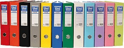 Unisystem 092471 - Archivador folio 70 mm