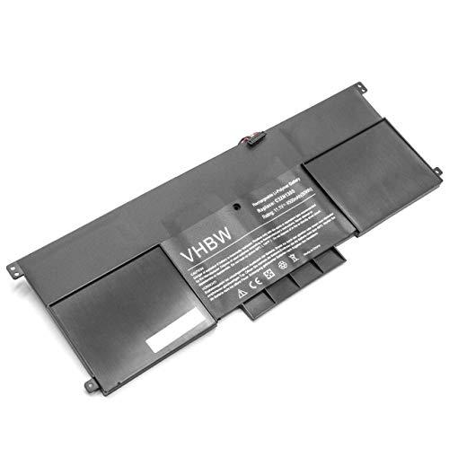vhbw Li-Polymer Batterie 4500mAh (11.1V) pour Ordinateur Portable, Notebook ASUS Zenbook Infinity UX301LA, Prime UX301LA, UX301 comme C32-N1305.