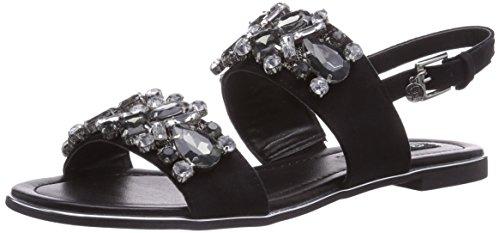 Blink BL 542, Sandales pour Femme - Noir - Schwarz (black01), Taille 40 EU