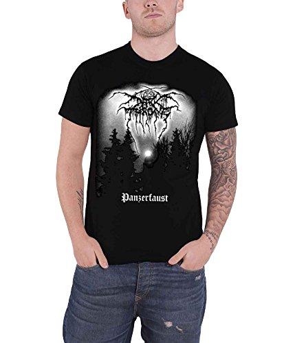 Darkthrone Panzerfaust offiziell Herren Nue Schwarz T Shirt