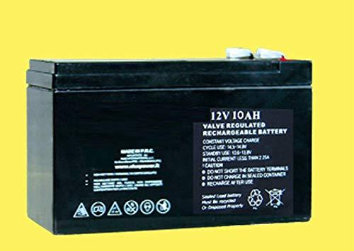 Pila batteria Ricaricabile Ermetica 12V 10Ah - (mm) 151x65x94(h) 204036 Alcapower