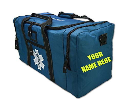 Lightning X First Responder EMS Medic Rescue Extrication Turnout Gear Bag w/Custom Embroidered Name
