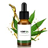 Xnuoyo Hemp Oil for Pain Relief, Premium Seed Grade Natural & Herbal Hemp Drops Promotes Anxiety Relief, Better Sleep, Reduces Stress & Chronic Pain - Hemp Seed Oil Natural Drops - 30 ml 1 Oz