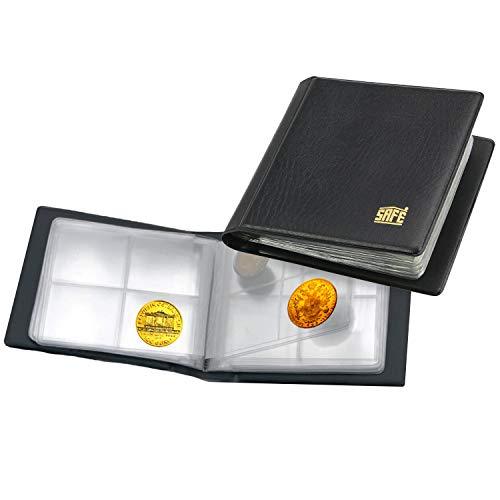 SAFE 227 Mini classeur pièces de Monnaie pour 40 pièces de 40 mm - classeur pièces de Monnaie Collection