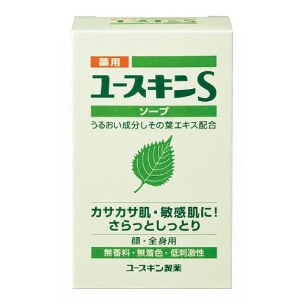 心理学食い違いアミューズメント薬用ユースキンS ソープ 90g (敏感肌用 透明石鹸) 【医薬部外品】