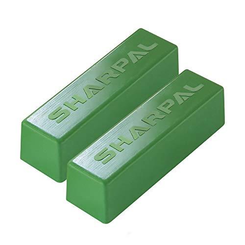 SHARPAL 208H 2er-Pack, 106g polierpaste fein grün buffing verbindung leder strop schärfen pampig verbindungen (2-pack, insgesamt 4 oz.)