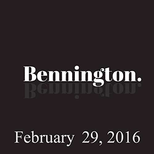 Bennington, February 29, 2016 audiobook cover art