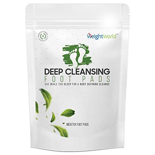 Detox Voetenpleisters - Natuurlijke Detox Foot Pads voor het verwijderen van Gifstoffen - 5 dagen reiniging programma - 10 Pleisters