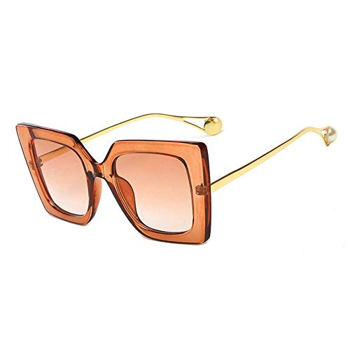 Gafas De Sol Fashion Unisex Hombres Gafas De Sol Macho Gafas De Ojos Señoras Gafas Femeninas Adecuadas para Las Compras De Viajes Al Aire Libre Y Tomar El Sol Etc-3-Qj1916-C4