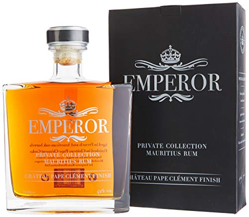 Emperor PRIVATE COLLECTION Mauritian Rum Château Pape Clément Finish mit Geschenkverpackung (1 x 0.7 l)