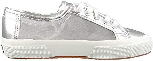 Superga Schuhe - Sneaker 2750 NETW - silver, Größe:36