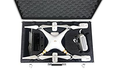 Carrying Case for DJI Phantom 3 Advanced or Professional Quadcopter Black