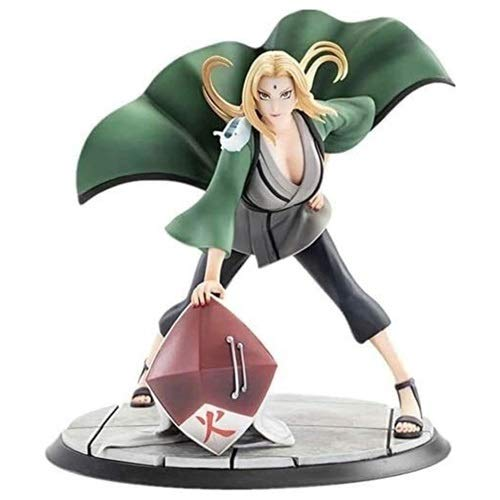 LCFF Figura Naruto Anime Figura Estatua Estatua Tsunade Quinta Generación 26 cm Estatuilla Decoración Adornos Coleccionable Modelo Niños Juguetes Doll Regalo