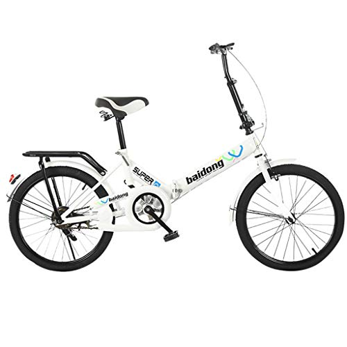 Photo of HUYURI 20 Inch Foldable Lightweight Mini Bike Small Portable Bicycle Adult Student