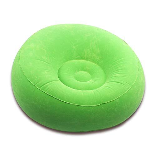 BUSUANZI Lazy Sofa Aufblasbare Aufblasbare Liege Single Beflockung Sofa Aufblasbar Outdoor Sofa Study Sofa