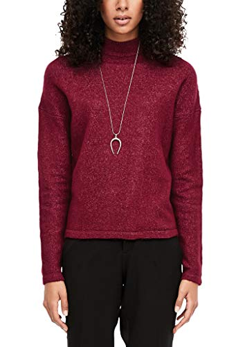 Q/S designed by - s.Oliver Damen 41.912.61.2654 Pullover, Rot (Cabernet 3930), X-Small (Herstellergröße: XS)