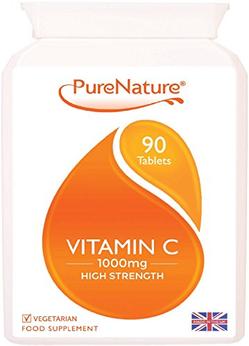 Vitamin C 1000mg | 90 Tablets | PureNature