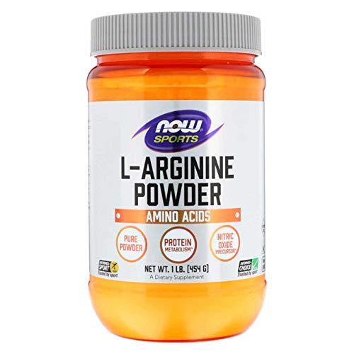 Now Foods, L-Arginin-poeder, 1 lb (454 g)