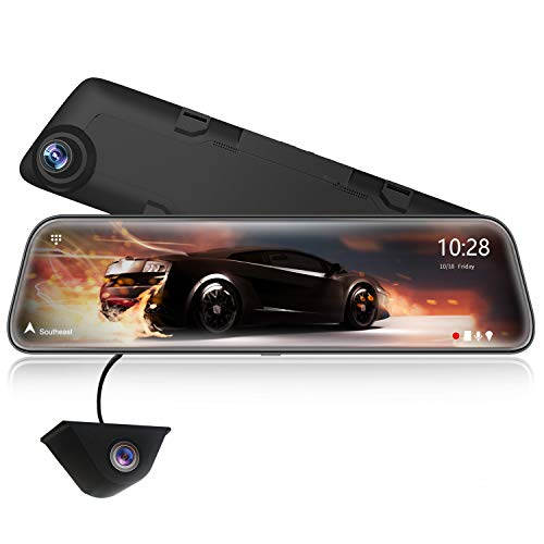 WOLFBOX 2.5K Spiegel Dashcam 12