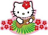 Licenses Products Hello Kitty Ukelele Guitar Sticker